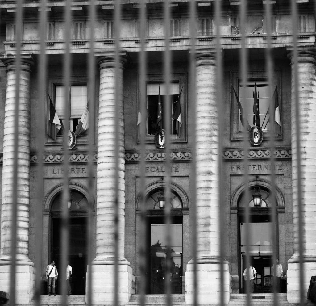 Grille - Palais de Justice de PARIS © Cabinet MCE - Marie Camille ECK, Avocat au Barreau de PARIS
