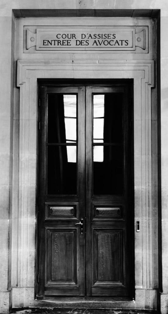 Entrée des avocats - Palais de Justice de PARIS © Cabinet MCE - Marie Camille ECK, Avocat au Barreau de PARIS