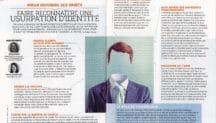 Scan d'une double page d'un dossier dans le magazine Dossier Familial